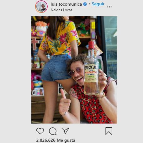 La foto polémica de Luisito Comunica