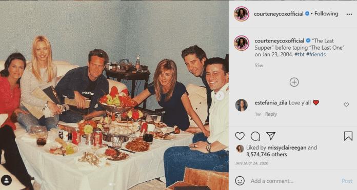 Courteney Cox y todos los guiños a Friends (1)
