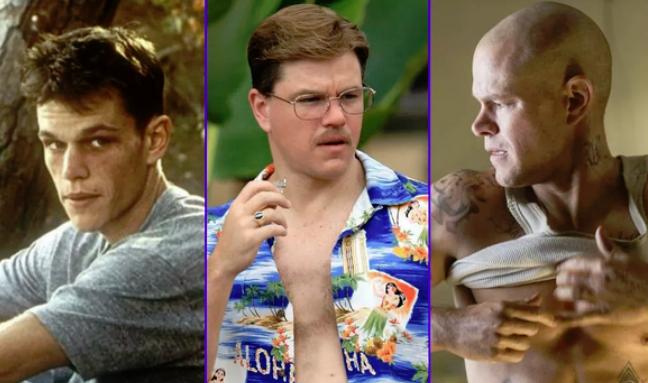 Cambios y transformaciones radicales de actores en película