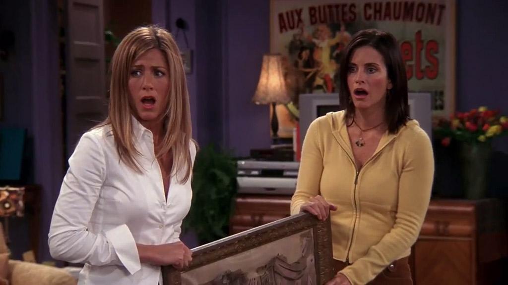 El capítulo de 'Friends' en el que Mónica y Rachel usaron dobles