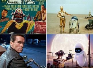 los mejores robots de película