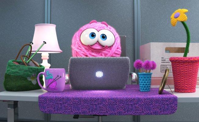 Purl de Pixar, el corto feminista