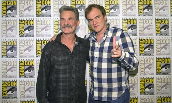 Quentin Tarantino: Avance de The Hateful Eight en Comic Con 2015