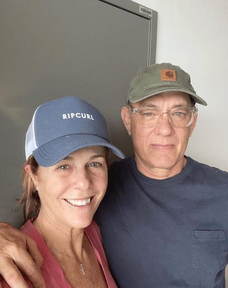 Tom Hanks y Rita Wilson - Coronavirus