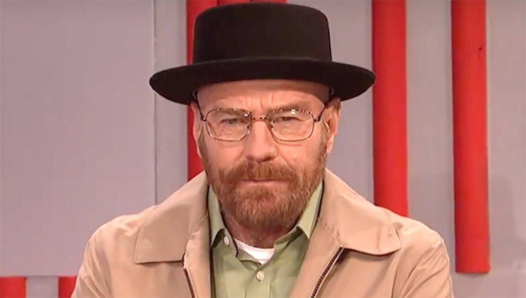 Bryan Cranston vuelve a ser Walter White en Satudary Night Live Donald Trump