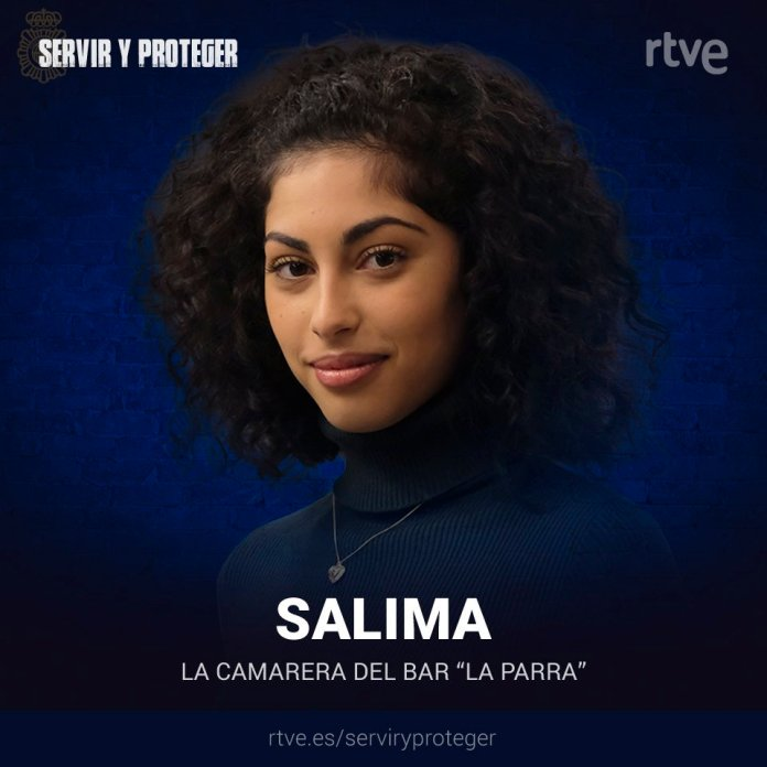 Mina El Hammani en Servir y Proteger