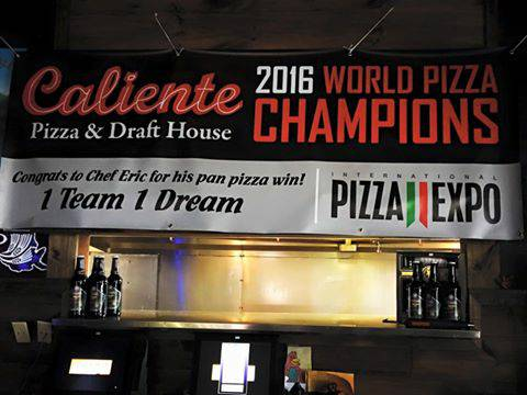 Caliente Pizza regional chef wins Best Pan Pizza in the World