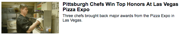Caliente Chefs Win Top Honors At Las Vegas Pizza Expo