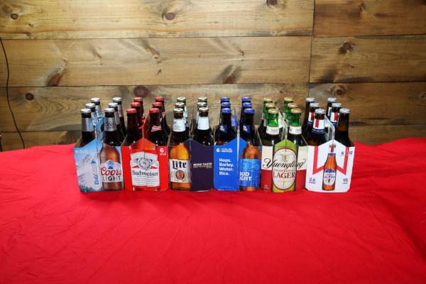 6 packs of Domestic Bottles