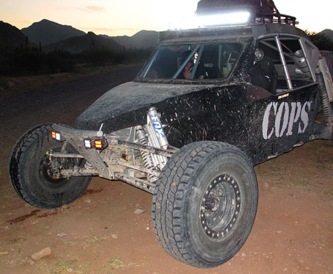 Prerunning the Baja 1000