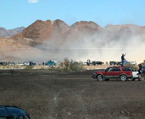 Baja 250: COPS Trophy Truck and Contingency