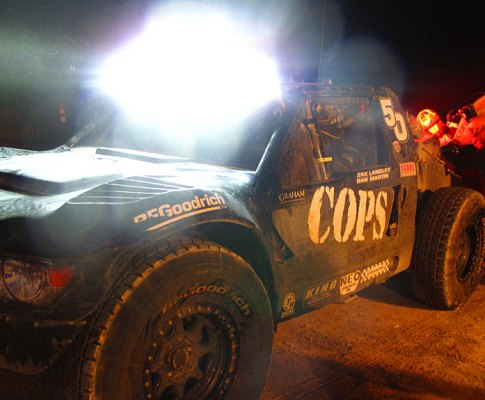 COPS Racing at the Baja 1000