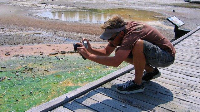 Geyser photographer.