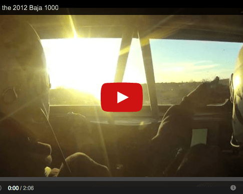 Video: Prerunning the 2012 Baja 1000