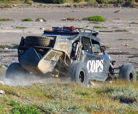 Baja 1000: COPS Prerun and Race