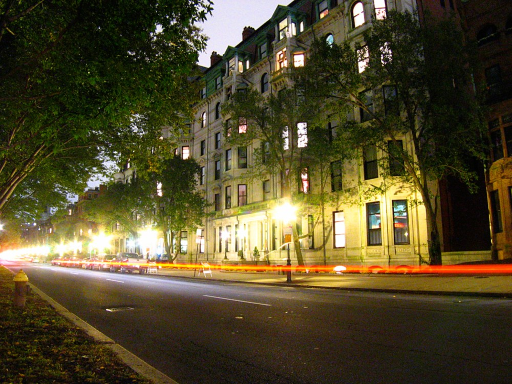 Commonwealth Avenue, Boston.