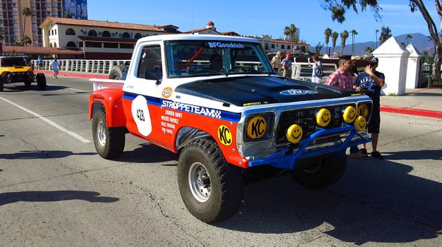 Jonathan Swift raced this 1975 Ford F-100 in the Pioneer 4x4 class.