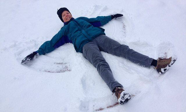 The snow angel angel.