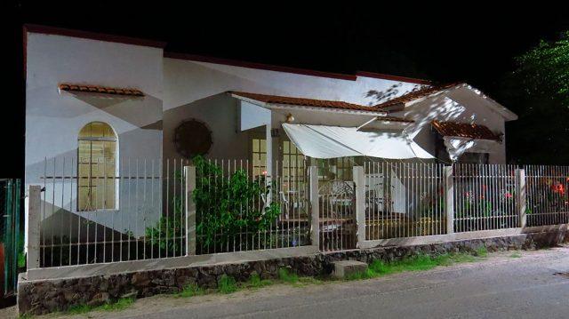 A small house on Calle Valdivia Peña.