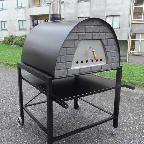 Prime schwarz2 600x600 - Pizzaofen