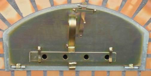 Tür1teilig für Holzbackofen