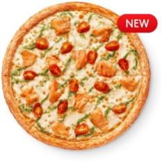 Красный лосось Лосось,томаты,моцарелла,соус белый