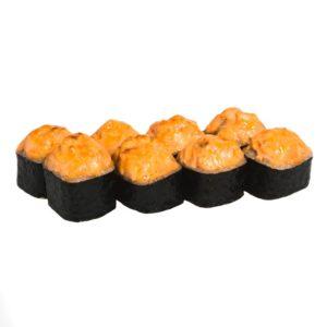 299р ФИЛАДЕЛЬФИЯ ГРИЛЬ состав Лосось,огурец,сливочный сыр соус,унаги соус.