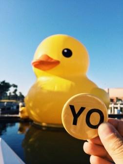 Rubber Duck - Florentijn Hofman (San Pedro)