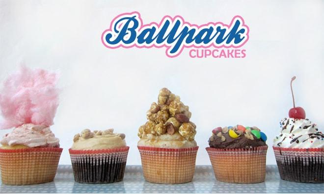 Cupcake With A Baseball Glove Ball Topper From Modern Birthday Party Via Kara 39 S