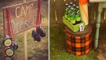 Backyard Camping Party Ideas