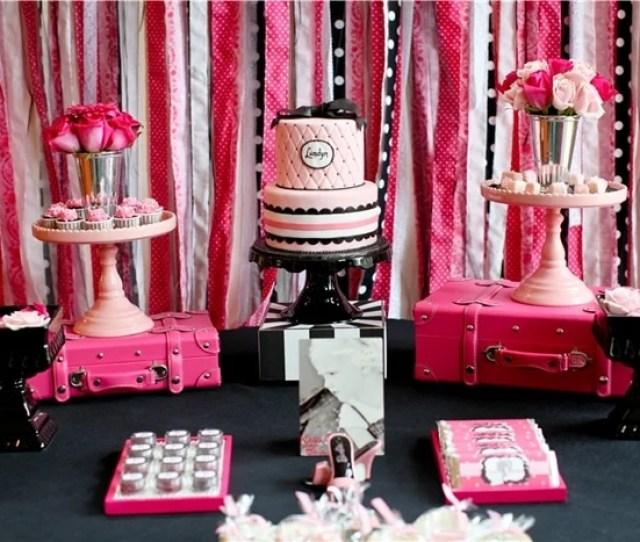 Barbie Birthday Party On Pizzazzerie Com Barbie Party Birthday
