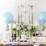 How To Host An Elegant Blue And White Baby Shower Pizzazzerie