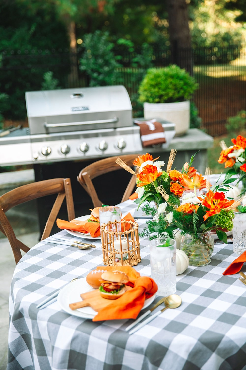 Grilling for Tailgating season