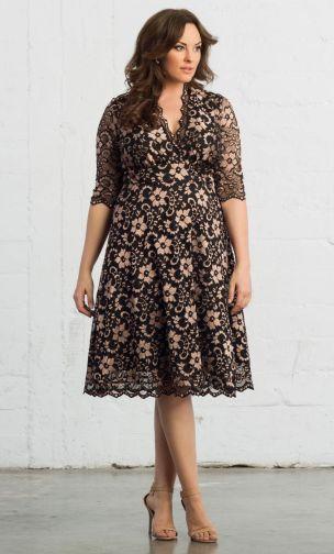 lace party dress in plus sizes, ladies plus size party dresses, special occasion lace dresses plus size