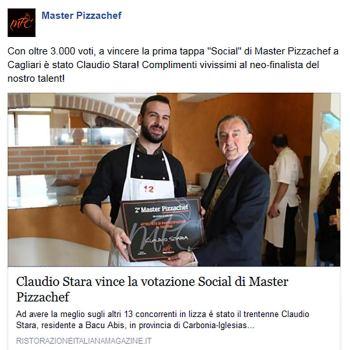 Claudio Stara - Master Pizzachef