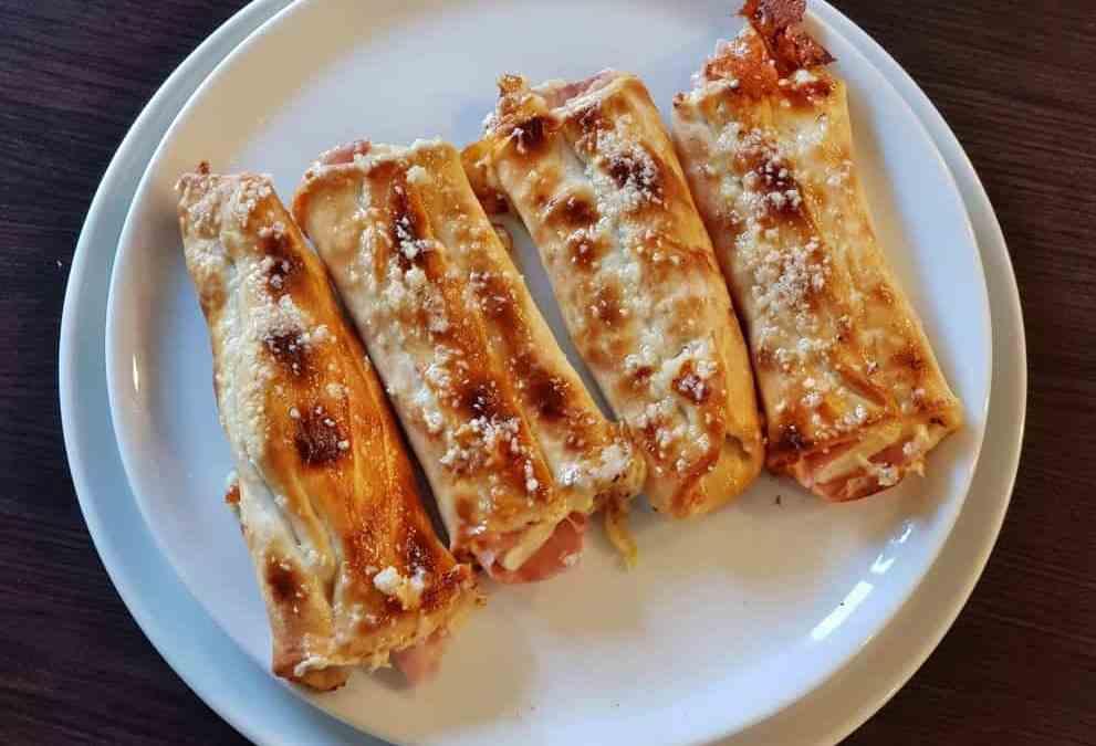 3. Pizza štangle plnené slaninou a syrom 4ks 380g