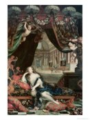 179477~Portrait-of-Madame-de-Montespan-Reclining-in-Front-of-Gallery-of-the-Chateau-de-Clagny-Posters_jpg
