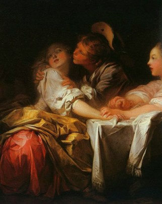 Jean-Honore-Fragonard-The-Stolen-Kiss-