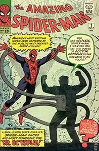 Marvel comics hero Spiderman. My first taste of science fiction and fantasy
