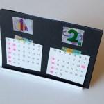 オリジナルカレンダー_ワークショップ試作