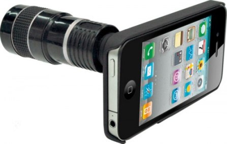 Telephoto-lens-with-8x-zoom-for-iPhone-4