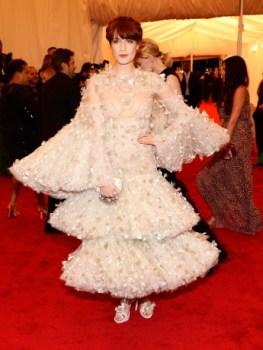 Florence Welch í Alexander McQueen
