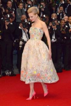 Nicole Kidman flott í blómakjól