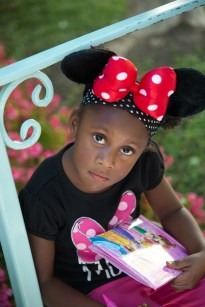 Waiting for minnie