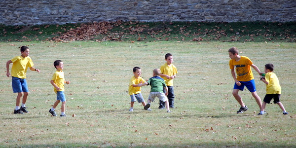 Colter Plays Pickup Football