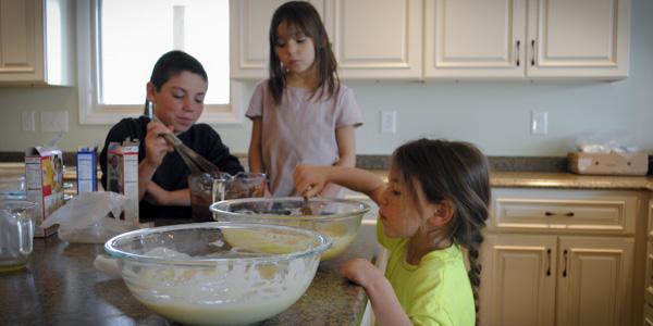 Kids Cooking Breakfast Birthday Cake Pj S Blog