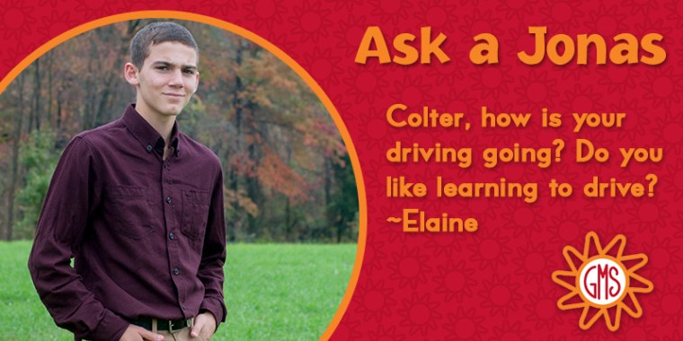 Ask a Jonas-colter_driving_blog