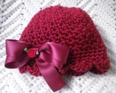 Crochet Baby Girl Cloche