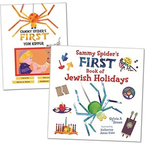 Two Sammy Spider Books Selected by PJ Library for August