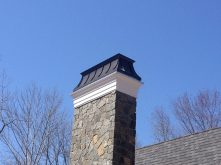 Black Patina - Regan Chimney Cap